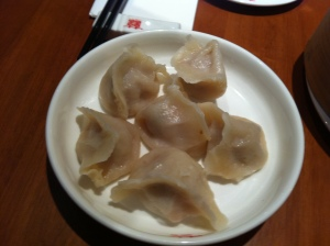 Peking dumplings at China Red