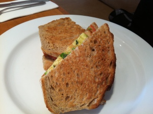 Toasted sandwich, Cafe Sweethearts