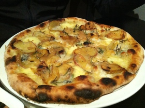 Bianca pizza, Bordello